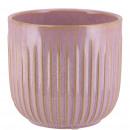 Keramik Kübel Susi, D11cm, H9cm, für TO9,5, rosa